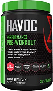 MFIT SUPPS - Havoc Pre-Workout Powder - Sour Watermelon Flavor