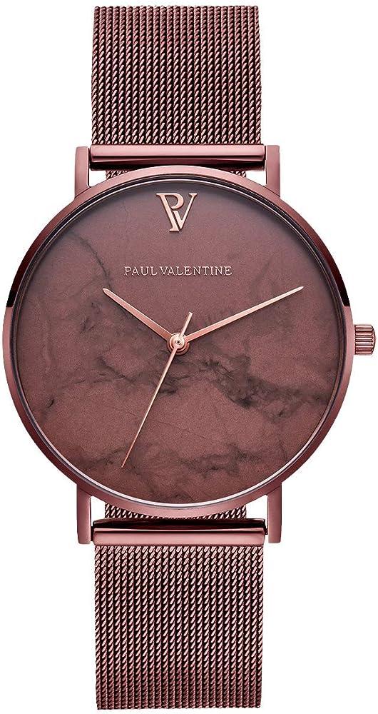 Paul valentine orologio donna in acciaio inossidabile Spedizione GRATUITA