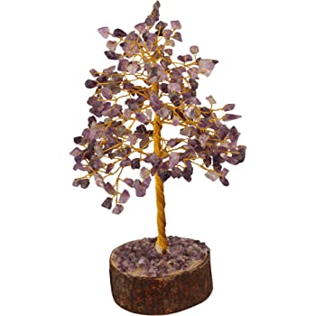 Zaicus Green Jade Crystal Tree Silver Wire Natural Gemstone Bonsai Money Tree For Good Luck Healing Stone Feng Shui Natural Stone Bonsai Money Tree 7 8 Inches Approx Artificial Dried Flora Artificial