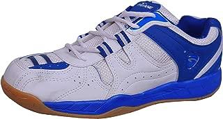 ProAse Men's White Blue Badminton Shoes Size -