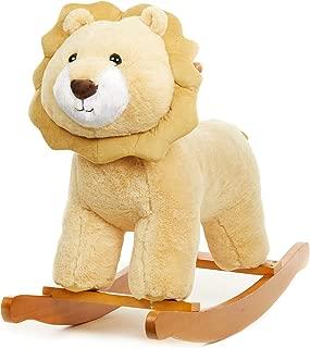 Large Rocking Horse - Plush Lion Rocker for Kids