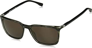 Hugo Boss Rectangular Men's 0959/s Rectangular Sunglasses - GRYBKSPTD, 56 mm