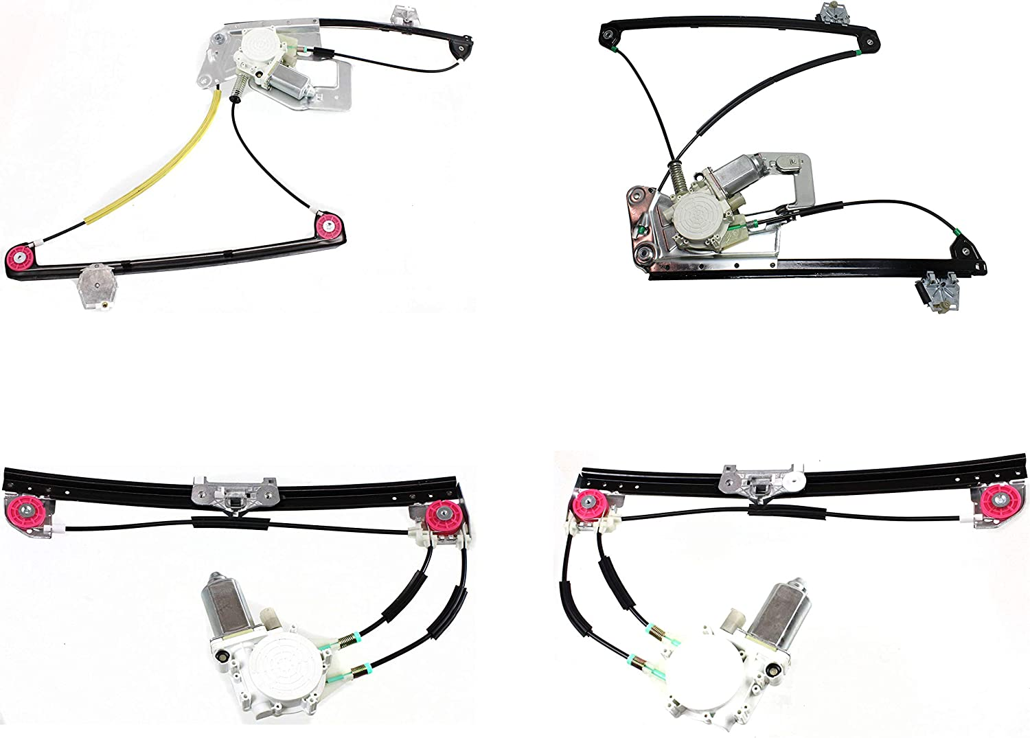 Evan-Fischer Front 直輸入品激安 and Rear 超目玉 Window 199 Compatible with Regulator