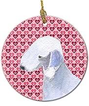 Bedlington Terrier Ceramic Ornament