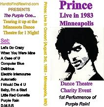Rare Prince Charity Concert on DVD (1st Performance of Purple Rain)