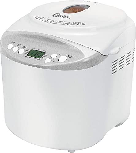 wholesale Oster Expressbake sale Bread Maker with Gluten-Free Setting, 2 new arrival Pound, White (CKSTBR9050-NP) online