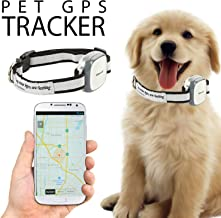Talis-us Pet GPS Tracker, 3G Dog GPS Tracker and pet Finder The GPS Dog Collar Attachment, Locator Waterproof, Tracking De...