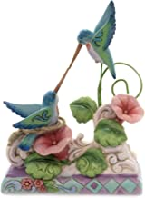 Enesco Jim Shore Heartwood Creek Hummingbirds on Floral Vine Figurine, 6.75-inch High