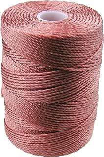 C-LON Bead Cord, Copper Rose - 0.5mm, 92 Yard Spool