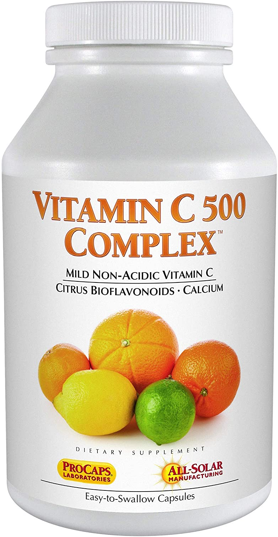 Andrew Lessman New Shipping Free Shipping Vitamin C 500 – Capsules Non-Acid 60 Rare Complex