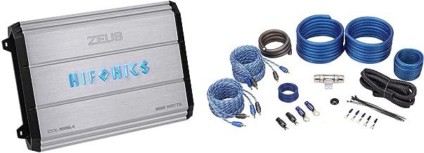 x 3.50in. 15.20in Hifonics ZXX-600.4 Zeus 4 Channel Bridgeable Amplifier x 11.70in Silver