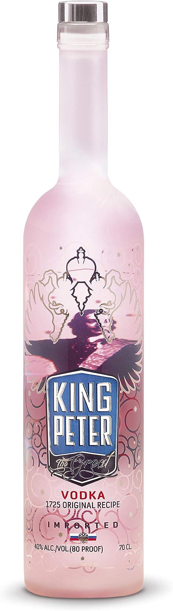 King Peter The Great Rosé Vodka Jeroboam Premium, 3 litros ...