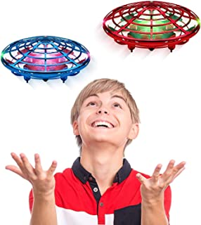 Force1 Scoot Duo Hand Drones for Kids - Kids Drone, Flying Ball Drone Toys for Boys and Girls (2Pk)