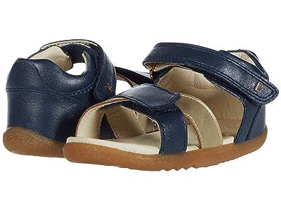 Bobux Kids Step Up Sail Sandal (Infant/Toddler) (Navy/Gold 1) Girl