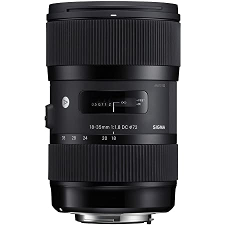 SIGMA 18-35mm F1.8 DC HSM | Art A013 | Nikon F-DXマウント | APS-C/Super35