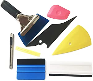 Beilala PCS Vehicle Glass Protective Film Car Window Wrapping Tint Vinyl Installing Tool  Squeegees  Scrapers  Film Cutters