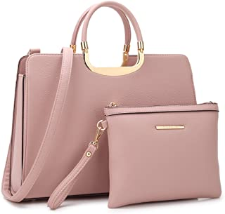 Women's Fashion Handbag Ladies Tote Shoulder Bags Satchel Purse Top Handle Work Bag with Matching Wallet