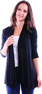 Simply Ravishing SR Women's Basic Various Style Sleeve Open Cardigan (Size: Small-5X)