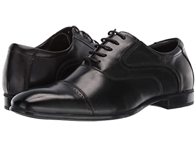 Steve Madden Lowkey Oxford (Black Leather) Men