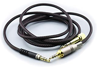 NewFantasia Replacement Audio Upgrade Cable Compatible with Audio-Technica ATH-M50xBT, ATH-AR3BTBK, ATH-SR50BT, ATH-ANC9, ATH-ANC7B, ATH-SR5BTBK, ATH-S700BT Headphones 1.2meters/4ft