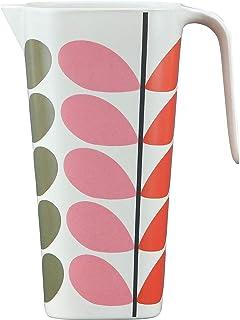 Orla Kiely OK728 bambusowy dzbanek - solidny trzpień Multi