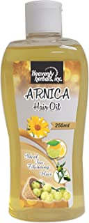 Arnica Hair Oil replenishes Lost Hair Moisture, Strengthens Hair shafts and adds Volume and Shine, Creating Thicker, Fuller Hair.
