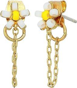 Seedbead Daisy Chain Earrings