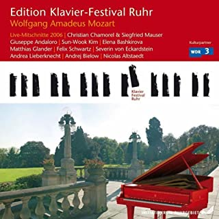Mozart: Live Recordings (Edition Ruhr Piano Festival, Vol. 14) (Live)