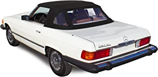 Sierra Auto Tops Mercedes 1972-1989 SL Series (R107) Convertible Top, Stayfast Canvas, Black
