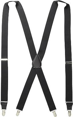 Stacy Adams - Clip-On Suspenders XL