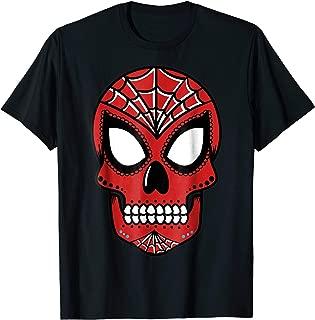 Marvel Spider-Man Sugar Skull Graphic T-Shirt