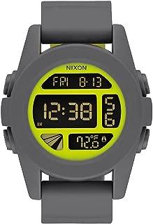 Nixon Men's A197147-00 Unit Digital Display Japanese Automatic Grey Watch