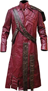 Guardians of The Galaxy Star Lord Peter Quill Trench Leather Coat
