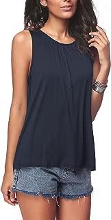 sleeveless cotton tops