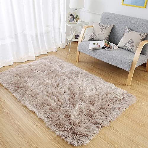 3x5 Faux Fur Rug Amazon Com