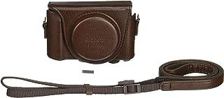 索尼 Sony 数码相机套保护套棕色 LCJ Hwa T