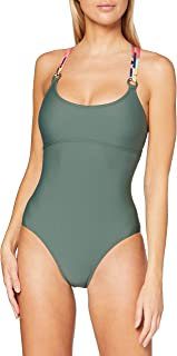ESPRIT Flamand Beach RCS Neckholder Padded Swimsuit Costume Intero Donna