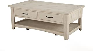 Best farmhouse coffee table with drawers Reviews