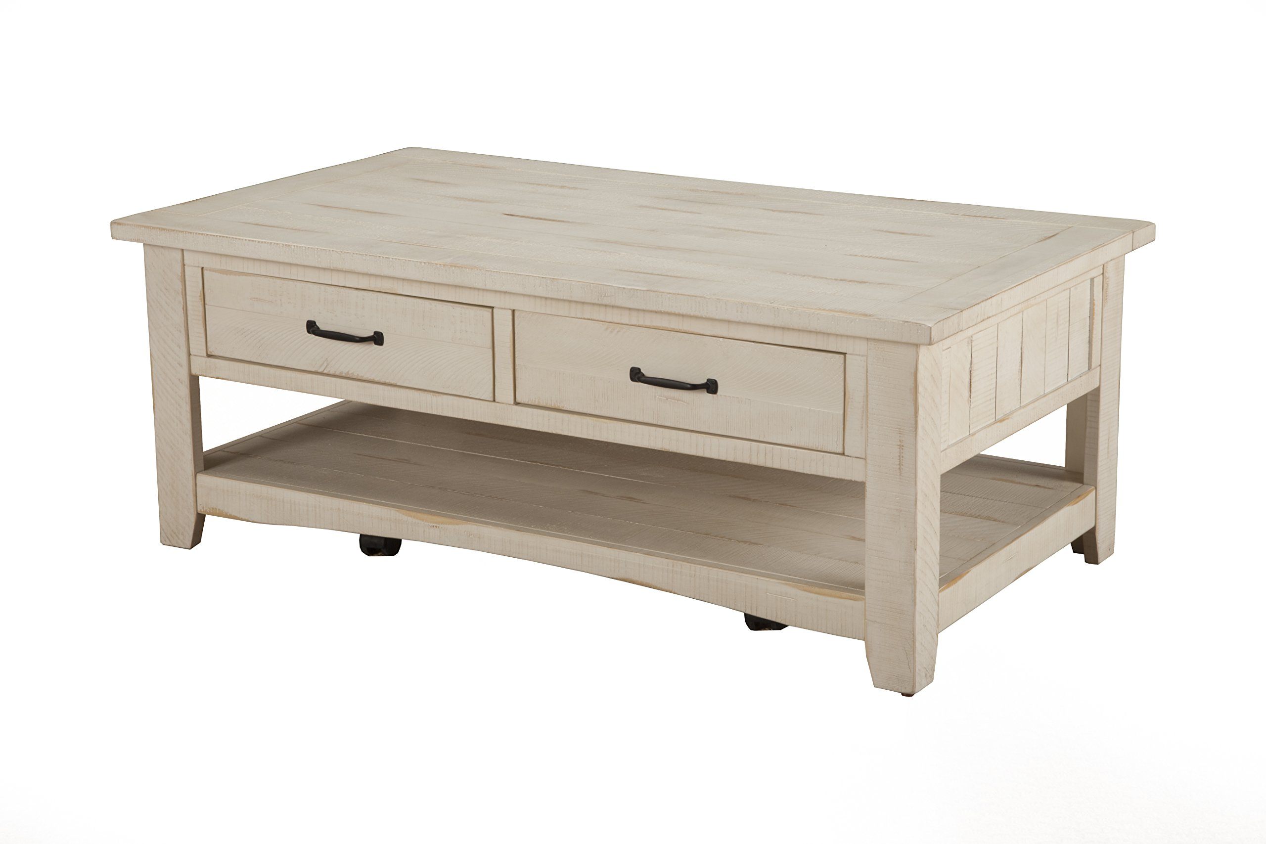 - Martin Svensson Home Rustic Coffee Table, Antique White - Buy