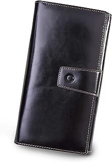 Anvesino Women's RFID Blocking Wallet Leather Large Capacity Phone Clutch Travel Purse Card Holder Organizer Ladies Purse