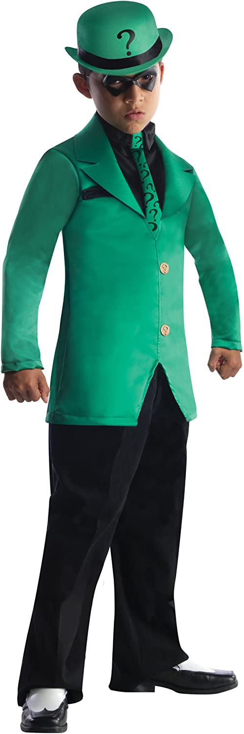 Riddler Boys Costume Size L