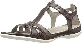 ECCO Women's Women's Flash T-Strap Gladiator Huarache Sandal