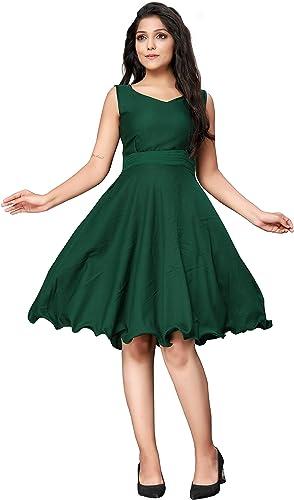 Women s Knee Length Skater Dress