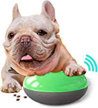 USWT Squeak Dog Treat Leak Toy, Interactive Dog Food Dispensing Toy with Sound for Slow Feeding