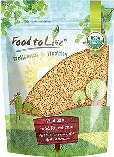 Organic Whole Freekeh, 1 Pound — Whole Grain, Non-GMO, Vegan, Roasted Green Wheat, Healthy Ancient Supergrain Farik, High in Protein and Dietary Fiber, Bulk Frikeh, Product of the USA