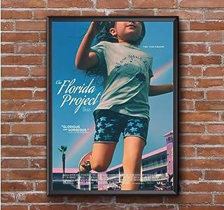 フロリダプロジェクト映画ポスタークラシック人気映画ポスターレトロホームウォールペインティングギフト(フレームなし)-50x75cmフレームなし