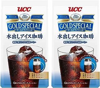 UCC ゴールドスペシャル 水出しアイス珈琲 コーヒーバッグ4P 140g×2袋 8バッグ