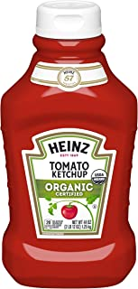 Heinz Organic Tomato Ketchup (44 oz Bottles, Pack of 6)