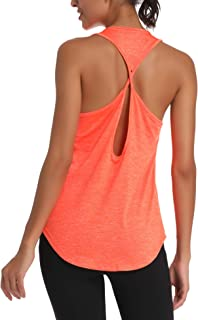 Aeuui Womens Workout Tops Cute Gym Clothes Running Yoga Shirts