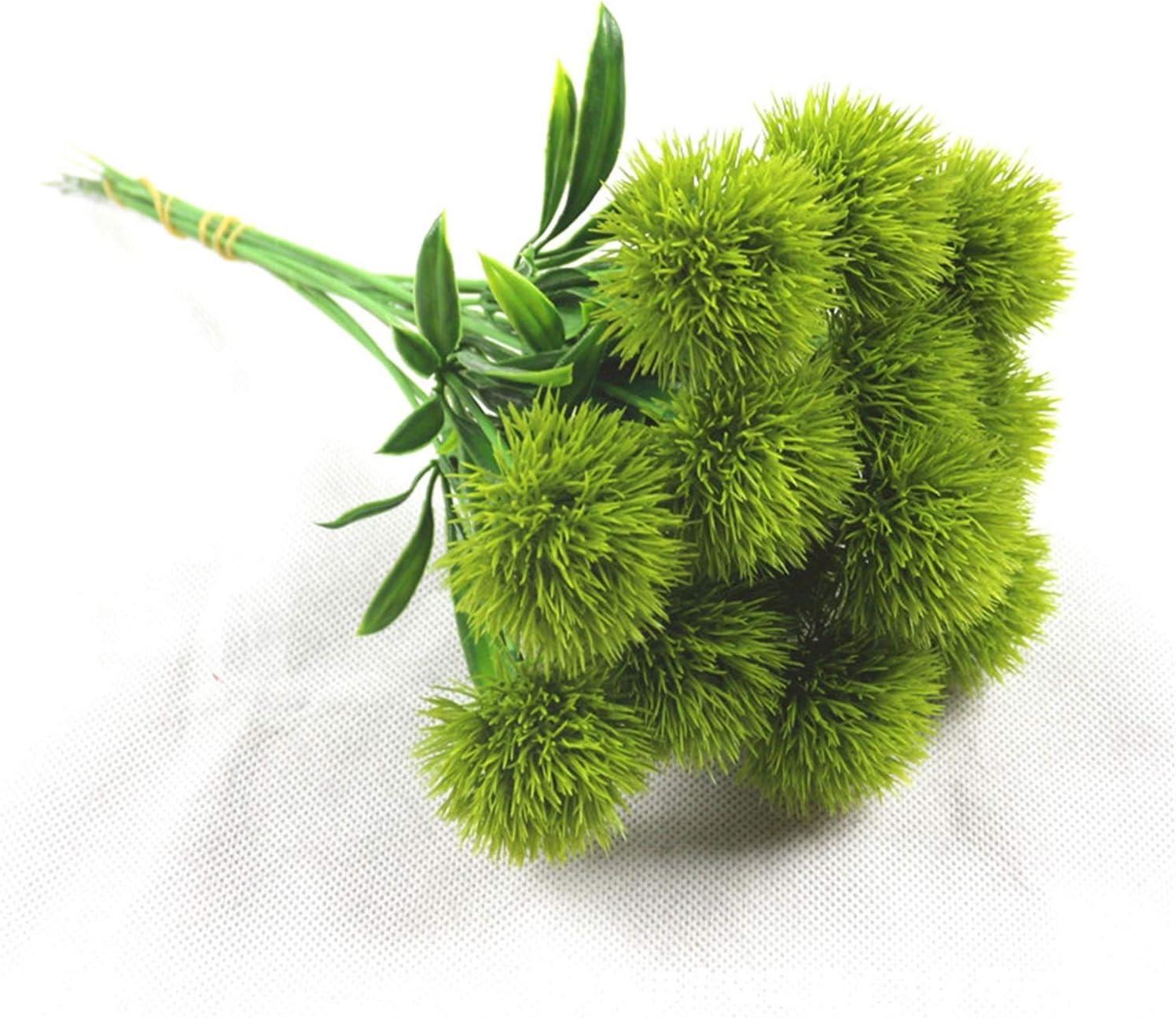 JSJJAES Artificial Flowers Allium Japan In a popularity Maker New 5Pcs Pompon